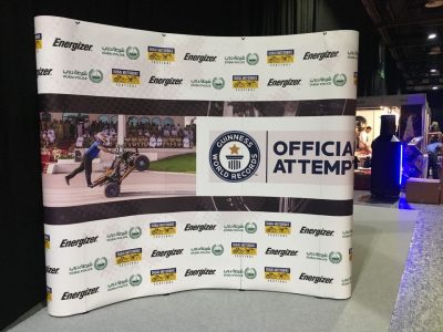 3x3 Curved Pop-up Banner