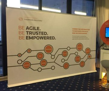 Thomson Reuters 3x2m Roll-up