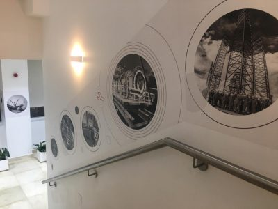 Wall Graphics with Brand Visuals