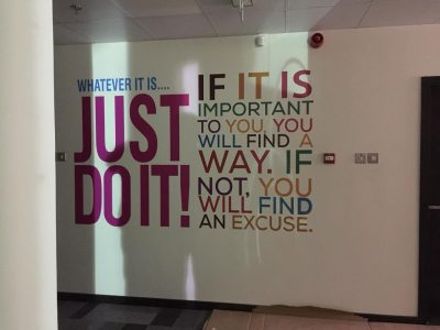 Cut-out Vinyl Wall Graphics