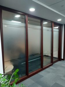 Frosted Vinyl Privacy Film
