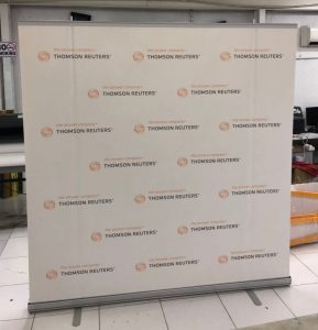 Thomson Reuters 2x2m Roll-up